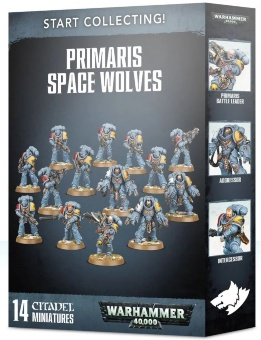 WH40k: Space Wolves Primaris Start Collecting