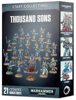 WH40k: Thousand Sons Start Collecting