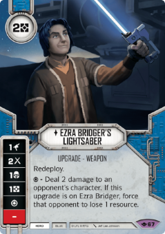 Ezra Bridger's Lightsaber [Legendary from Way of the Force 67]