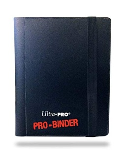 Альбом Ultra-Pro Pro-Binder 4-Pocket: черный/синий