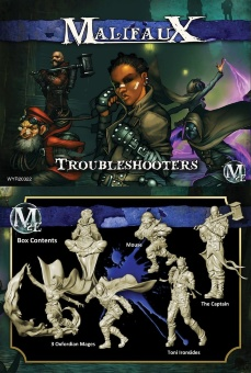 Malifaux: Arcanists: Starter Ironside - Troubleshooters