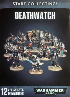 WH40k: Deathwatch Start Collecting (2017)