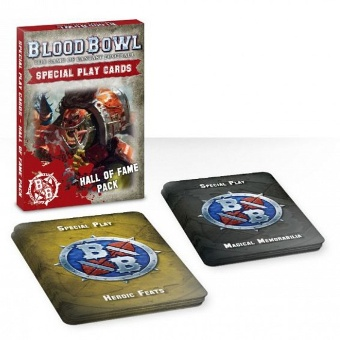 Blood Bowl: Hall of Fame cards