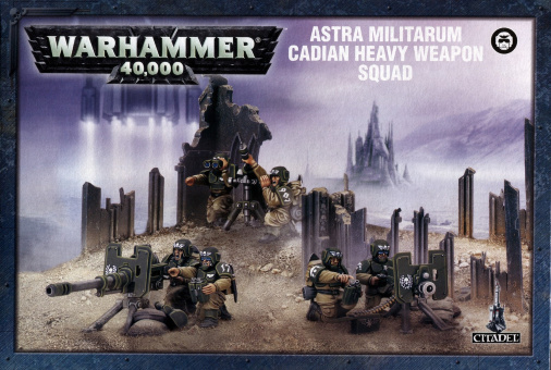 WH40k: Astra Militarum Cadian Heavy Weapon Squad