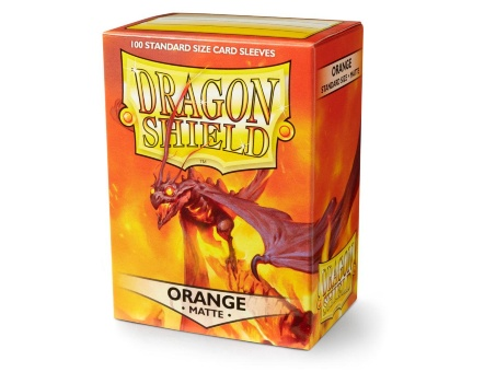 Протекторы Dragon Shield: Matte Orange (100 шт.)