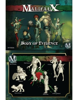 Malifaux: Resurrectionists: Starter McMorning - Body of Evidence