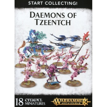 WH AoS: Daemons of Tzeentch Start Collecting