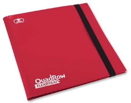 Альбом Ultimate Guard 12-Pocket QuadRow FlexXfolio Red