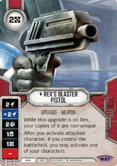 Rex's Blaster Pistol [Legendary from Way of the Force 87]