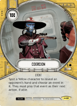 Coercion [Uncommon from Empire at War 81]