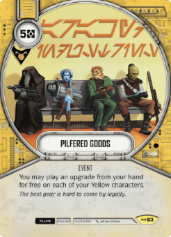 Pilfered Goods [Uncommon from Empire at War 83]