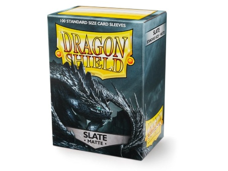 Протекторы Dragon Shield: Matte Slate (100 шт.)