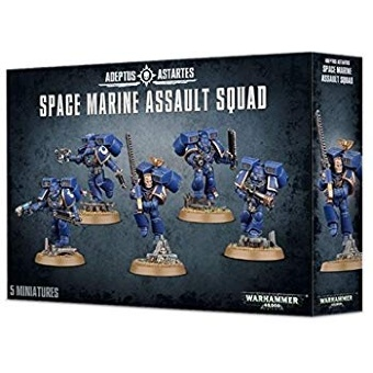 WH40k: Space Marine Assault Squad