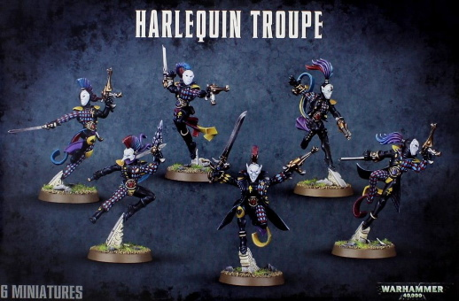 WH40k: Harlequin Troupe