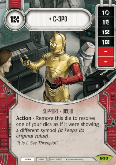 C-3PO [Rare from Spirit of Rebellion 30]