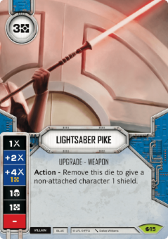 Lightsaber Pike [Rare from Spirit of Rebellion 15] на русском