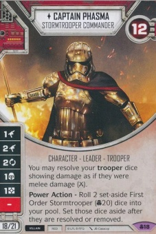 Captain Phasma - Stormtrooper Commander [Legendary from Convergence 18] на русском