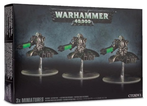 WH40k: Necron Destroyers