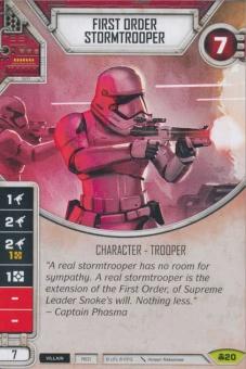 First Order Stormtrooper [Rare from Convergence 20] на русском