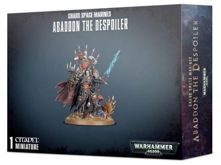 WH40k: Chaos Space Marine Abaddon the Despoiler (2019)