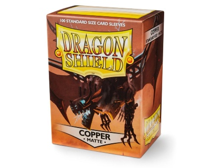 Протекторы Dragon Shield: Matte Copper (100 шт.)