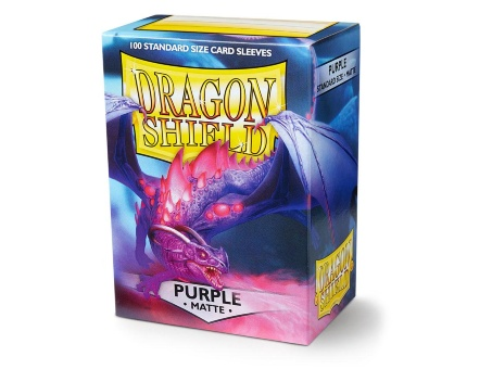 Протекторы Dragon Shield: Matte Purple (100 шт.)