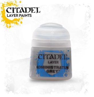 Краска Citadel Layer: Administratum Grey