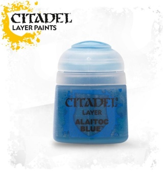 Краска Citadel Layer: Alaitoc Blue