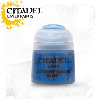 Краска Citadel Layer: Altdorf Guard Blue