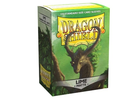 Протекторы Dragon Shield: Matte Lime (100 шт.)