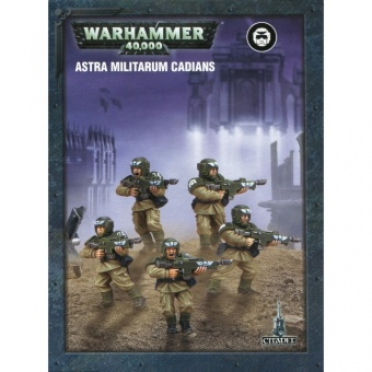 WH40k: Easy to Build: Astra Militarum Cadians