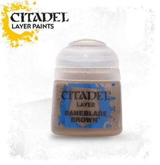 Краска Citadel Layer: Baneblade Brown