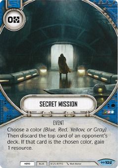 Secret Mission [Common from Empire at War 102]