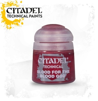 Краска Citadel: Technical: Blood for the Blood God (12ml)