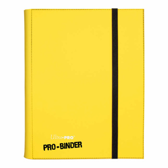 Альбом Ultra-Pro Pro-Binder 9-Pocket: желтый
